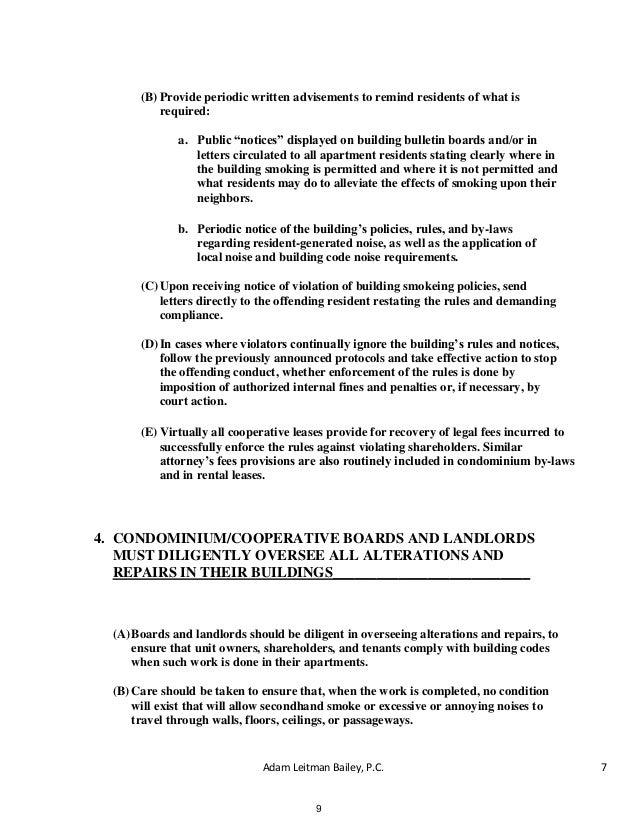 no smoking letter to tenants people davidjoel co