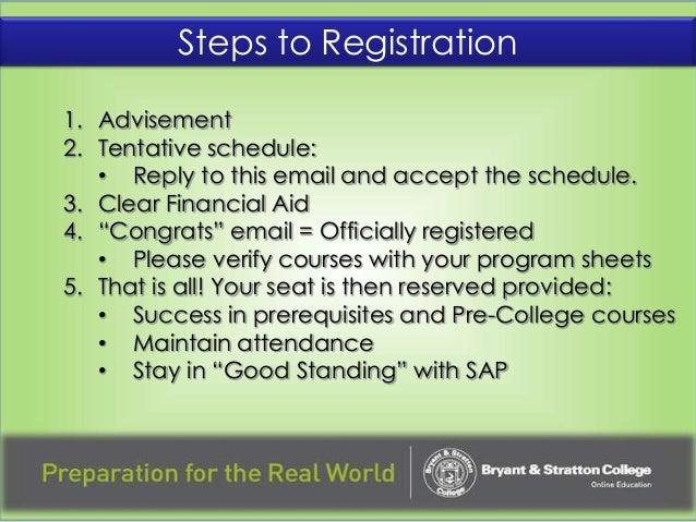 bryant stratton academic advising