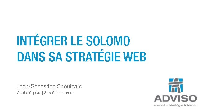 Integrer le Social Local Mobile dans sa stratégie web