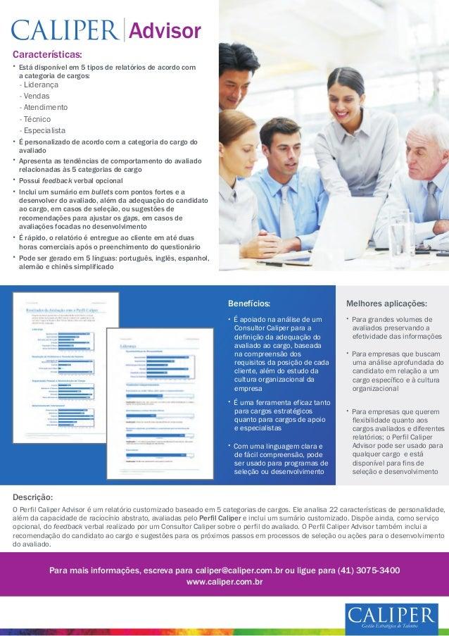 Características: - Liderança - Vendas - Atendimento - Técnico - Especialista Benefícios: Melhores aplicações: Descrição: A...