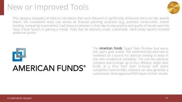 New or Improved Tools 11 This category evaluates all tools or calculators that were released or significantly enhanced sin...