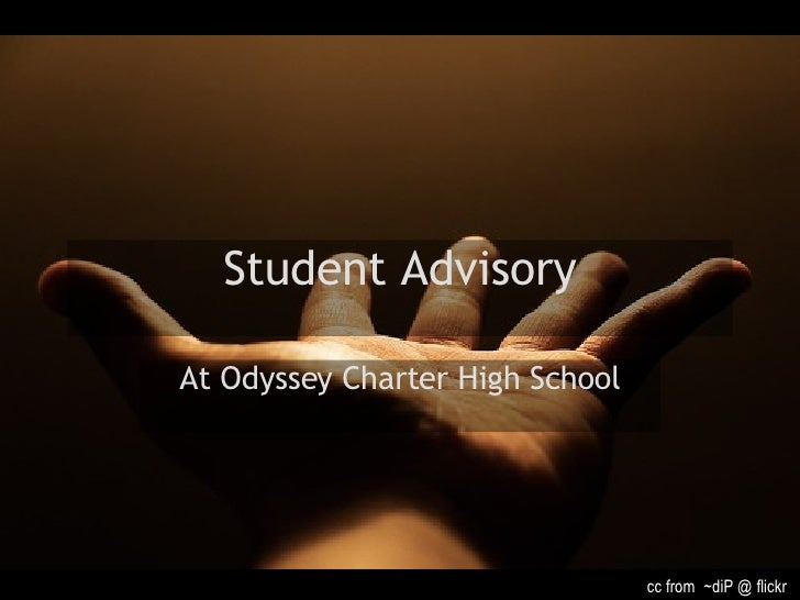 Student Advisory At Odyssey Charter High School cc from  ~diP @ flickr
