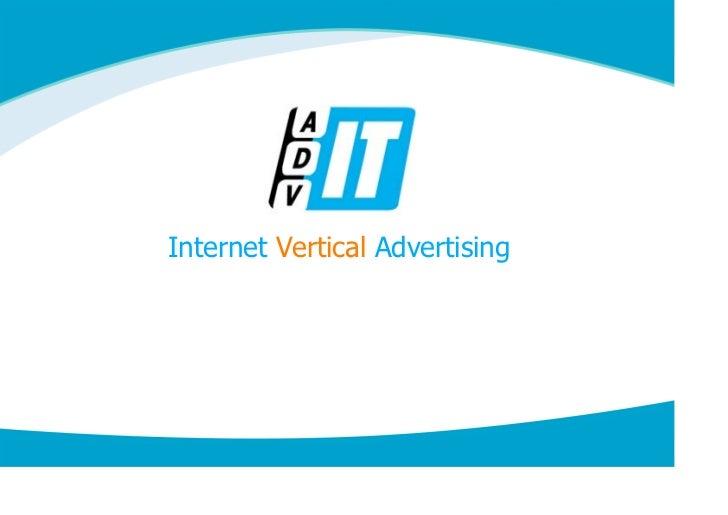 Internet Vertical Advertising