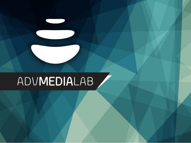 Adv Media Lab è un incubatore di soluzioni e servizi avanzati di digital strategy e performance marketing.  Adv Media Lab:...