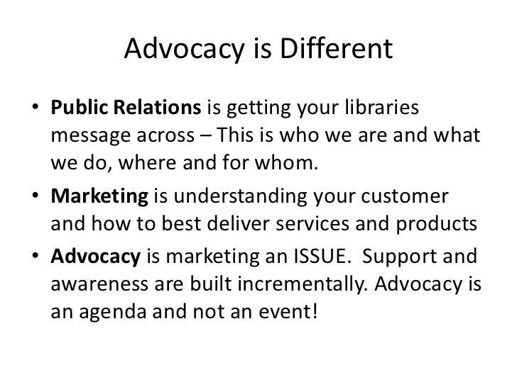 Advocacy sd Slide 3