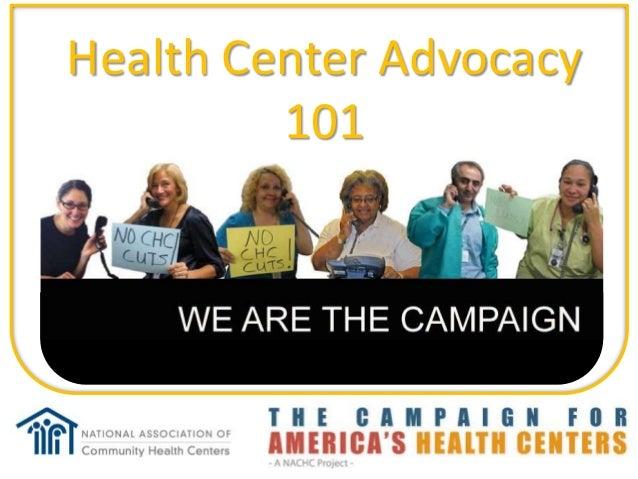 Health Center Advocacy         101