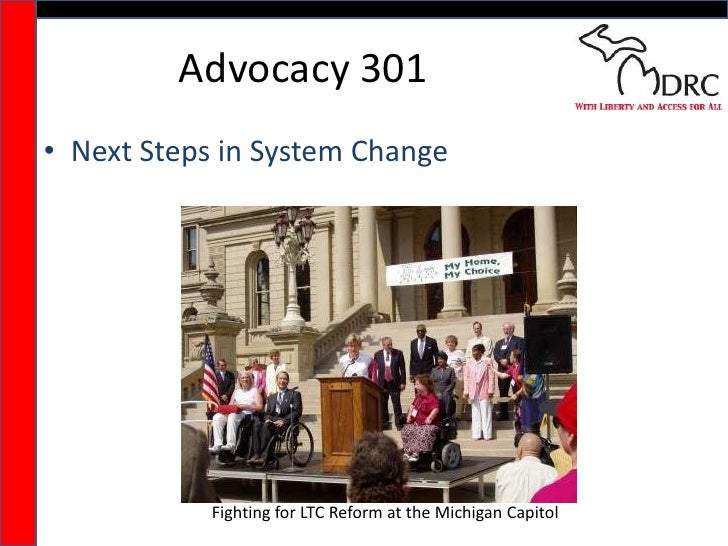 Advocacy 301<br />Next Steps in System Change<br />Fighting for LTC Reform at the Michigan Capitol<br />