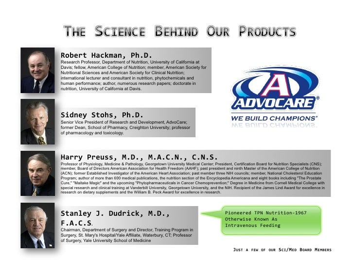 advocare business plan