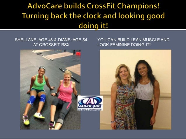 SHELLANE: AGE 46 & DIANE: AGE 54 AT CROSSFIT RSX YOU CAN BUILD LEAN MUSCLE AND LOOK FEMININE DOING IT!