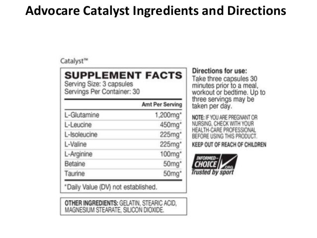 Advocare Catalyst Review - Weight Loss and Energy