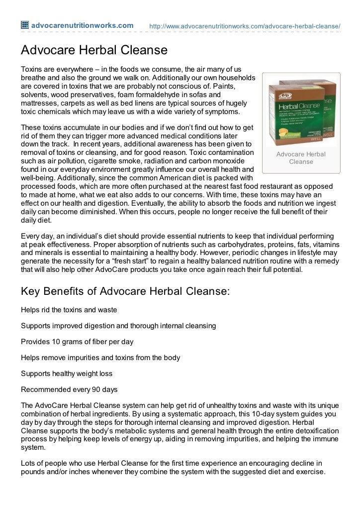advocarenutritionworks.com            http://www.advocarenutritionworks.com/advocare-herbal-cleanse/Advocare Herbal Cleans...