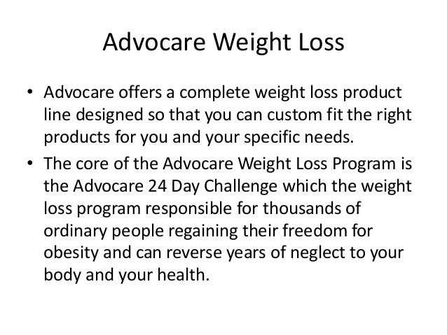 Advocare Weight Loss