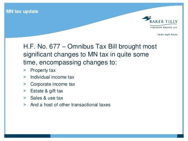MN tax ...