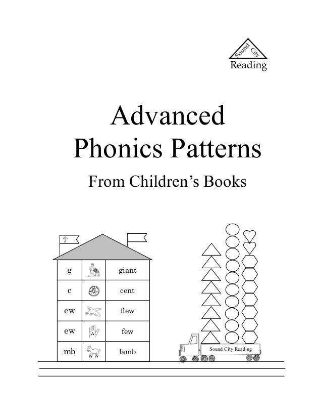 Advanced    Phonics Patterns     From Children's Booksg        giantc        centew       flewew       fewmb       lamb   ...