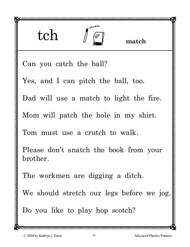 Printable Worksheets ending consonant blends worksheets : Digraph Tch Worksheets - digraph ch and tch worksheets with ...
