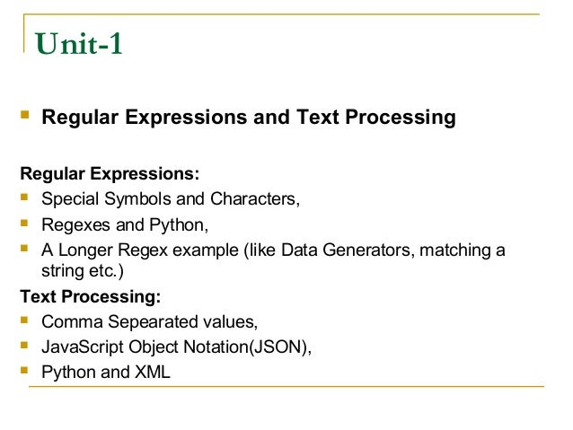 Adv Python Regular Expression By Rj