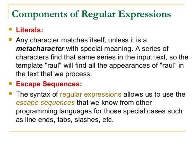 Adv  python regular expression by Rj