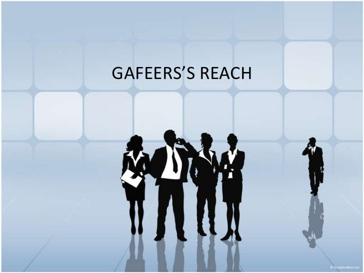 GAFEERS'S REACH<br />