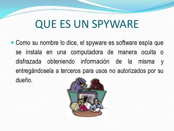 spyware que son