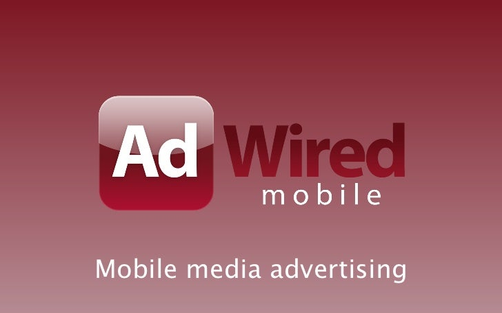 Mobile media advertising