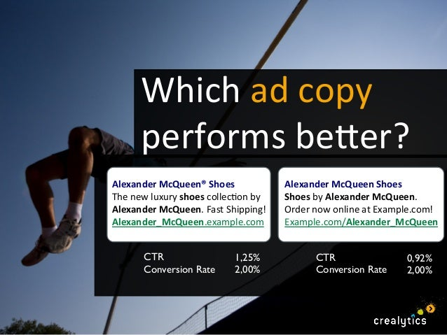 write ad copy that inspires greatness