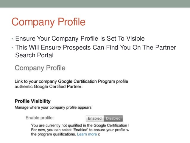 How To: Create a Company One-Pager