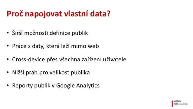 Užitečná AdWords publika nad zákaznickými daty Slide 3
