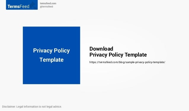 22 download privacy policy template
