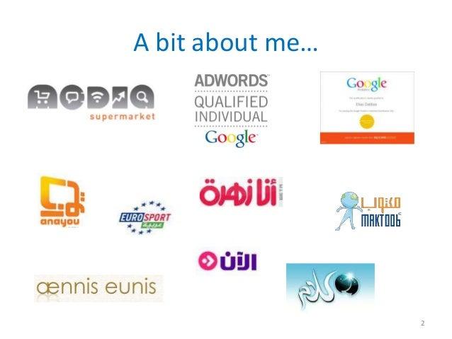 Adwords training social media forum 2010 Slide 2