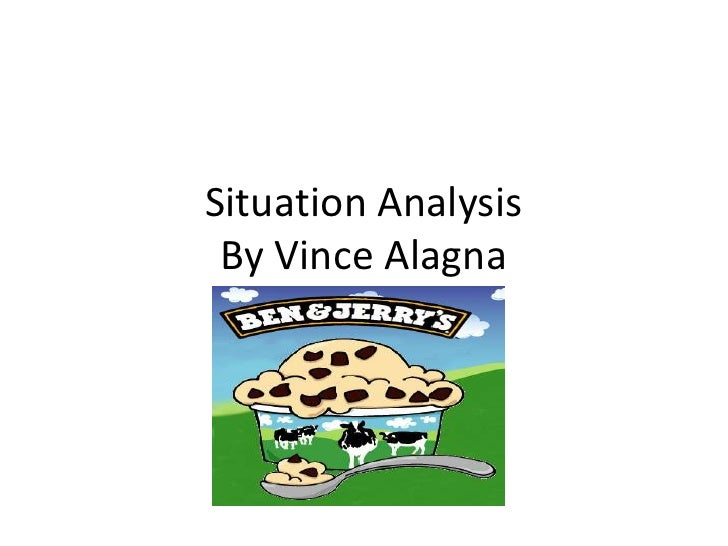 Situation Analysis                          By Vince Alagna<br />