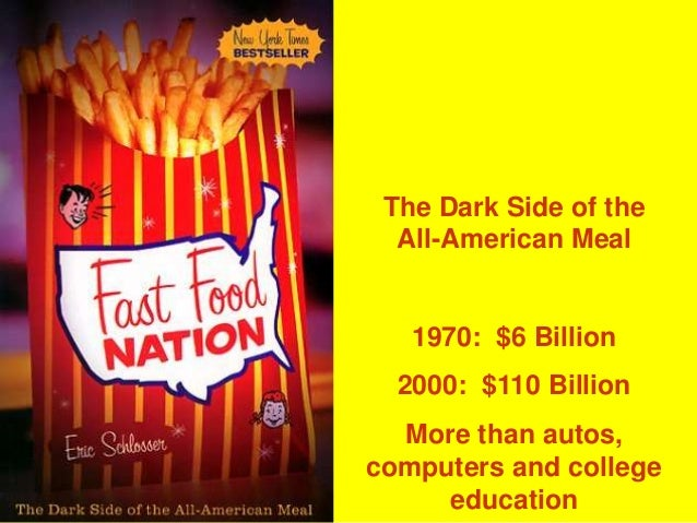 fast food naton review Free study guide for fast food nation: summary by eric schlosser analysis booknotes download.