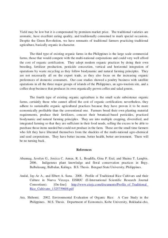 adoption of organic farming systems in missouri