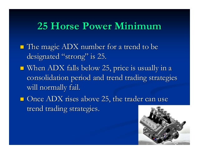 ADXodusADXodus™™ The ADXodusThe ADXodus™™ is a classic power trendis a classic power trend strategy that finds price break...