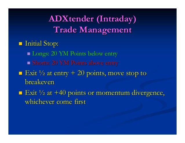 Point #4Point #4 Get Out of a Trend Trade With ADX DivergenceGet Out of a Trend Trade With ADX Divergence ADX Divergence R...