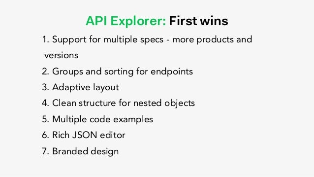 Beyond the basic Swagger UI: Adyen API Explorer