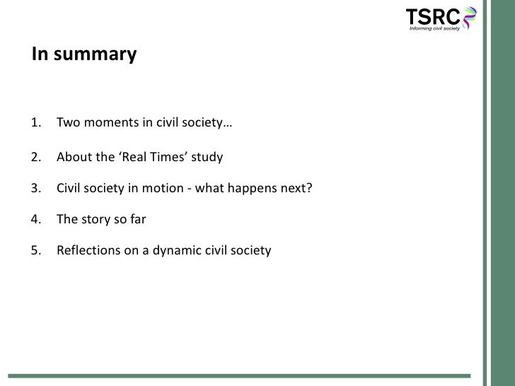 A dynamic civil society   rob macmillan Slide 2