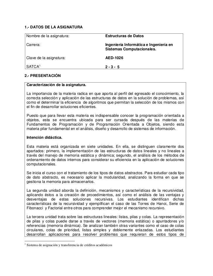 Ae 26 Estructura De Datos
