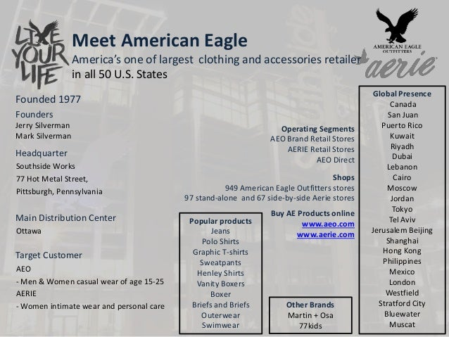 American Eagle Supply Chain management