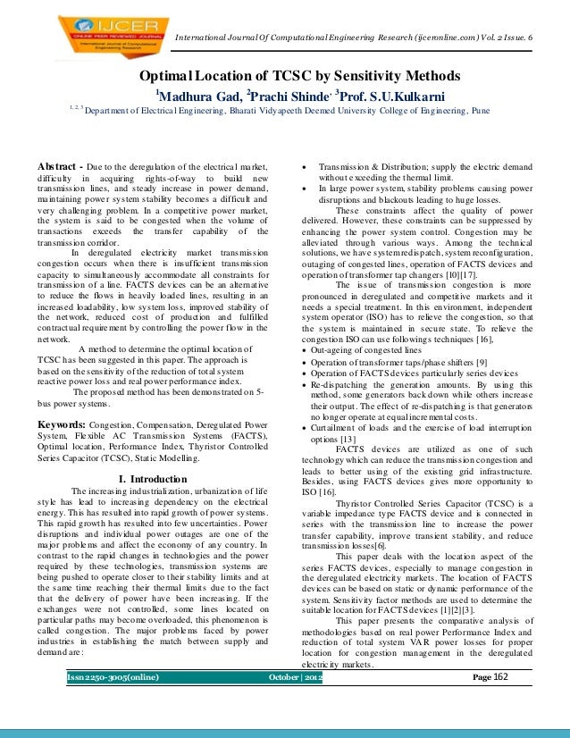 I nternational Journal Of Computational Engineering Research (ijceronline.com) Vol. 2 Issue. 6                            ...