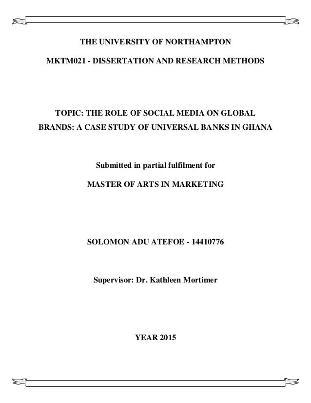 Crafting A Dissertation Title On Fashion 25 Helpful Examples