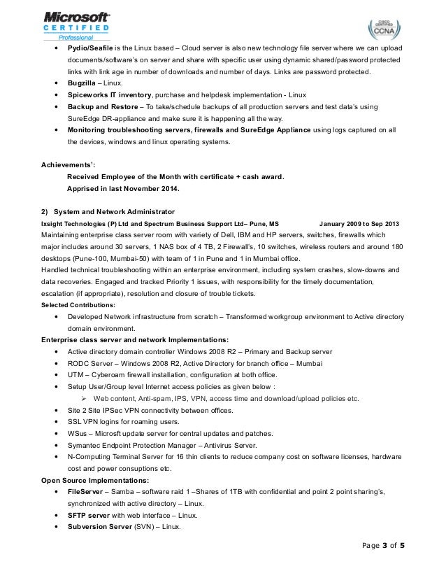 santosh yadav mar 2015 resume
