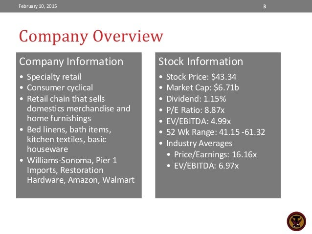 walmart investment thesis Investment thesis in 2010 low made the largest investment in stores technology in the company's history the plan states that they will buy back shares.