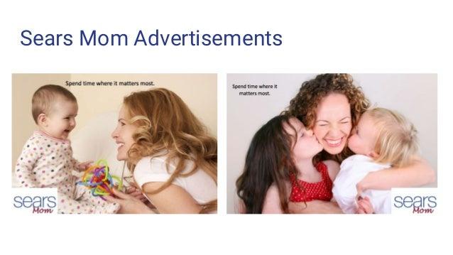 Sears Mom Advertisements