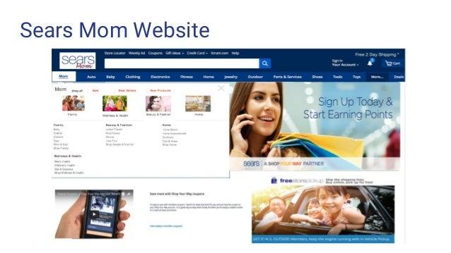Sears Mom Website
