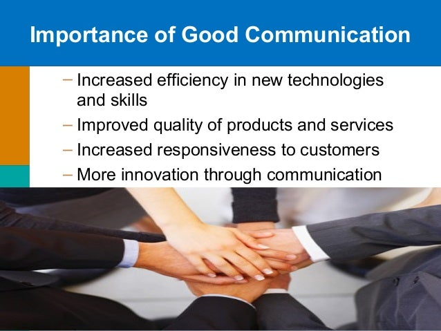 Business communication presentation. A+.