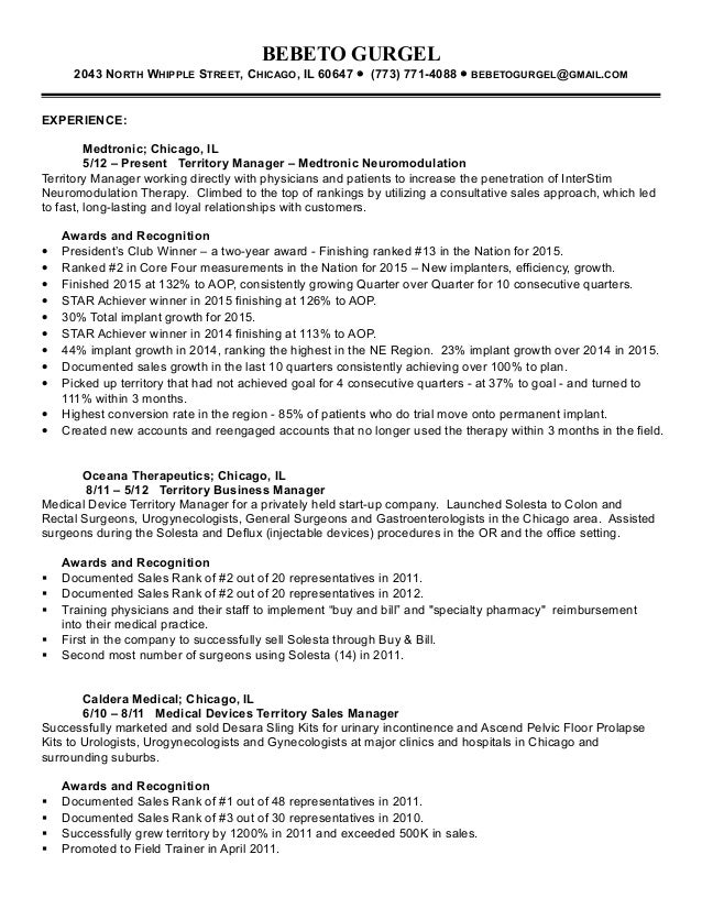 medical device resume hatchurbanskriptco - Sample Medical Sales Cover Letter
