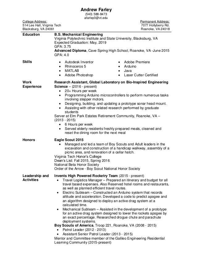 Andrew Farley Resume (9-9-16)