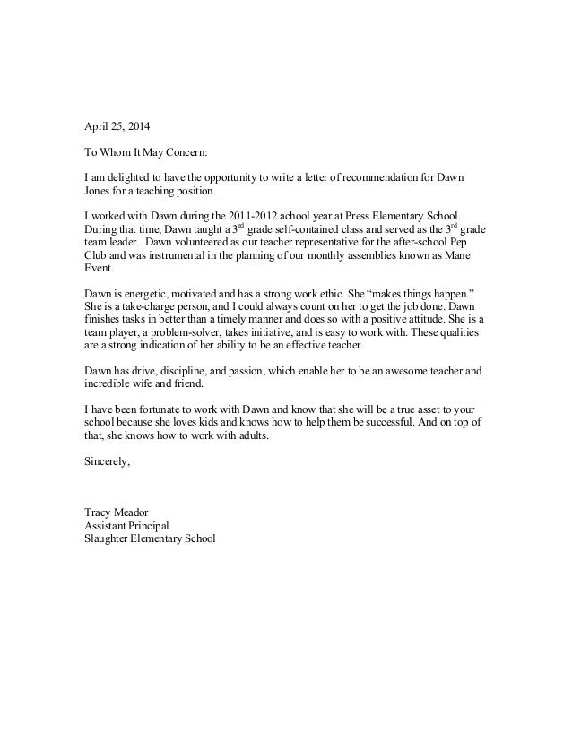 dj letter of rec april 25 2014 to whom it may concern i am delighted to have the