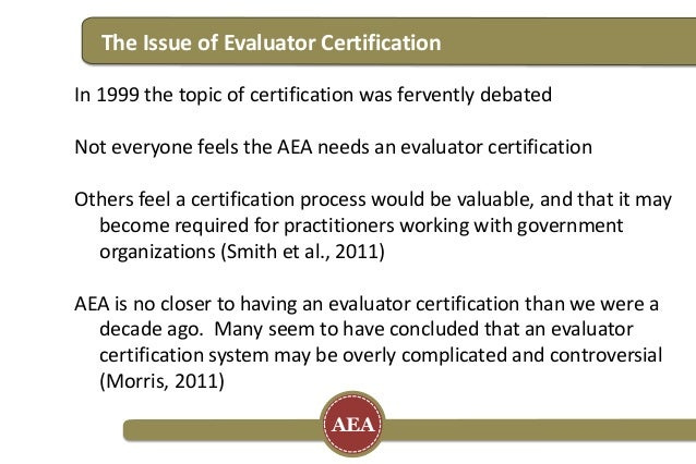 Using Open Badges as a Certification Solution for Evaluators - AEA 20…