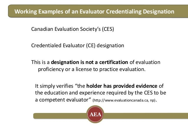 Using Open Badges as a Certification Solution for Evaluators